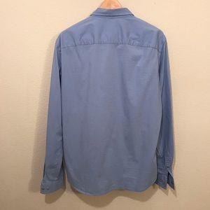 Armani Exchange Shirts - Armani Exchange Stretch Snap Button Down Shirt